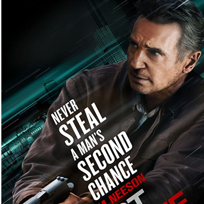 Crime drama starring Liam Neeson.  Wanting to lead an honest life, a notorious bank robber turns himself in, only to be double-crossed by two ruthless FBI agents. (1hr 39mins)