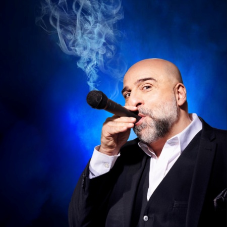"After experimenting with a Zoom gig where he got muted by 639 people and a Drive-in gig where Omid witnessed an audience member get out his car, attach a hose pipe to his exhaust and feed it through the window; multi award-winning comedian and actor Omid Djalili is now where he belongs, on a stage and bringing back the Good Times.   Intelligent, always provocative, entertaining, Omid's legendary stand-up performances is a captivating comedy masterclass. His credits range from Hollywood films to television and the West End stage. Earning praise across the world for his performances, Omid is seen hosting his own ITV quiz show The Winning Combination. He appeared in the smash hit Mama Mia 2: Here We Go Again, His Dark Materials for BBC1 & HBO, and Letter For The King on Netflix. Omid also gained rave reviews for his leading role of Tevvye in the Chichester Festival Theatre production of ""Fiddler On The Roof"". ""So hysterically funny and at the same time so poignant and powerful that calling it stand-up barely does it justice."" - Michael Levin, Huffington Post ""A thin, high cheek-boned, flamboyant luvvie."" - The Guardian"