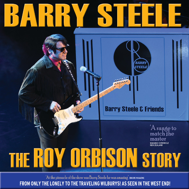 The one and only Barry Steele is set to put the rock back into 'The Big O' as he takes tothe stage to celebrate the musical legacy of The Big O and his friends in theWest End production of 'The Roy Orbison Story'.  Backed by a sensational band the production presents all theclassic hits alongside original material written but never sung by Roy Orbisonas well as showcasing elements of the symphonic orchestration first heard onthe recently released Albums. This top-class musical extravaganza also features astunningly brilliant finale as the whole cast comes together to pay homage tothe original supergroup 'The Traveling Wilburys.'  With an 80'S vibe built-in; this show really does havesomething for everyone! Barry Steele has been stunning audiences with his uncannyability to recreate the vocal talents of the legendary Roy Orbison, winningrave reviews across the globe. His vocal talents are quite simply 'TrueIdentikit Brilliance.' With big screen and live streaming!
