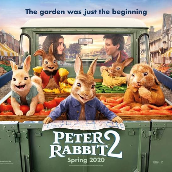 DATES TO BE CONFIRMED, COMING SOON & THEN YOU CAN BOOK!An array of famous voices create this family comedy where Peter Rabbit just can't help but cause more mayhem and mischief!  (1hr 33mins)