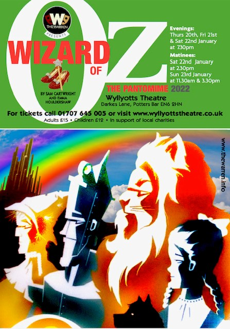 Wizard of Oz The Pantomime