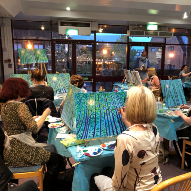 Social Painting Evening
